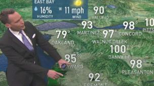 <p>High pressure brings the heat Saturday.  Chief Meteorologist Jeff Ranieri has more on where 100s are possible.  Plus, the air quality alert in your Microclimate Forecast.</p>
