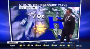 Strong high pressure will keep temperatures well above average and near record setting territory.  Chief Meteorologist Jeff Ranieri tracks who hits near 80 degrees.  Plus, details on any rain chances ahead.