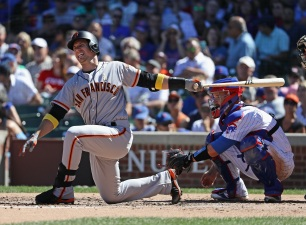 Giants End No-Hit Bid, But Still Fall Short to Cubs