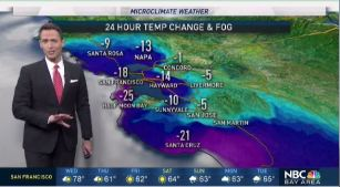 After record heat to start the week, temperatures are set to drop the next 72 hours.  Chief Meteorologist Jeff Ranieri tracks conditions 15 to 25° cooler.  Plus, when a few showers could move into the Bay Area.