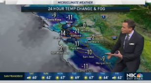 <p>A quick moving system to the north will help drop our temperatures Saturday.  Chief Meteorologist Jeff Ranieri tracks how much colder and when it heats back up again in your Microclimate Forecast.</p>