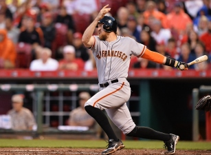 Crawford Hits Grand Slam, Giants Pound Reds 11-2