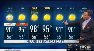 <p>Clouds return for the morning commute and hotter hazy conditions for the afternoon.  Chief Meteorologist Jeff Ranieri tracks your air quality forecast and much warmer temperatures in your Microclimate Forecast.</p>