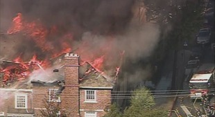 Fire Breaks out at Historic Church Near UC Berkeley