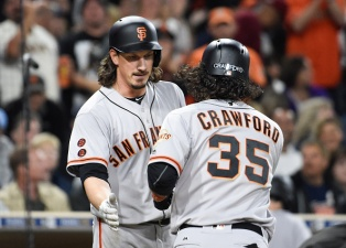 Giants Sweep Padres, Win Eighth Straight