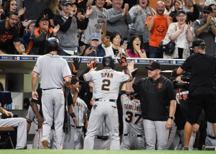 Giants Rally After Blown Save, Top Padres in 10th for Win