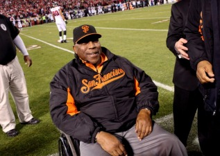 Giants Hall of Famer Willie McCovey Attends Parade