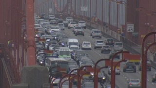 Golden Gate Bridge Median Won't Be Moved For Morning Commute