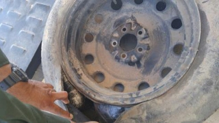 Meth Stashed in Spare Tire