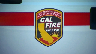 Firefighters Battle 'Ink Fire' Burning Northeast of Calistoga