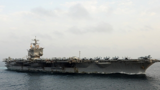 Navy: 8 Sailors Aboard Aircraft Carrier Hurt During Landing
