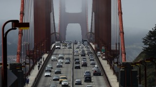 Eleven Hurt After Bus Rear-Ends Two Cars on Golden Gate Bridge