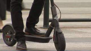 Thief Takes Off on Scooter After Knocking Rider Off in San Francisco