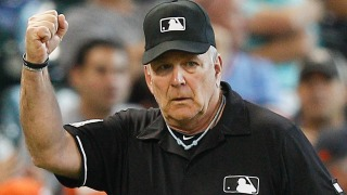Heckling Fan Tossed by Home Plate Umpire at Giants-Phillies Game
