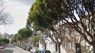 "Residents of Lombard Street's ""Broccoli Block"" Want Potentially Dangerous Ficus Trees Removed"