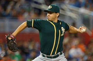 "Pitcher Tommy Milone's Wife Tweets ""Sad Face"" About Oakland A's Trade"