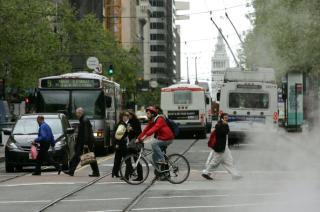 Tech Shuttle Buses Block Traffic, Delay Muni, SFMTA Survey Says