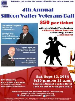 4th Annual Silicon Valley Veterans Ball