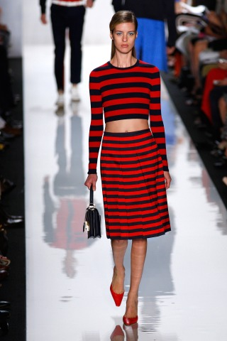 Michael Kors Offers Stripes and the '60s