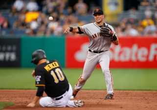 Giants' Eight-Game Win Streak Snapped by Pirates