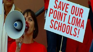 Point Loma Parents, Kids Rally to Fight Closures: Images