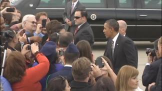 President Obama in Bay Area