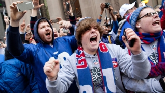 New York Giants Super Bowl Parade