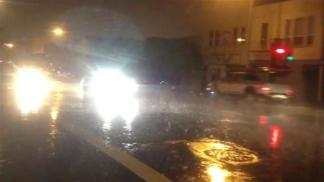 Raw Video of Rain on Folsom