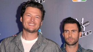 "Adam Levine and Blake Shelton Talk ""The Voice"""