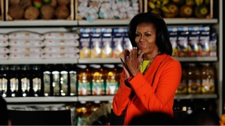 First Lady Visits Bay Area on Fundraising Trip