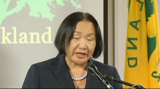 Raw Video: Oakland Mayor Jean Quan