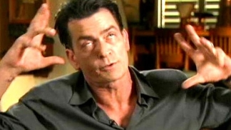 "Charlie Sheen: ""You Can't Process Me With A Normal Brain"""
