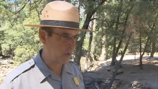 Raw Video: Yosemite Ranger Talk About Current
