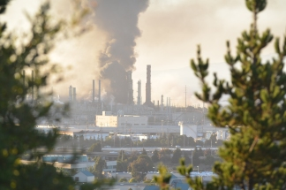 Chevron Refinery Catches Fire