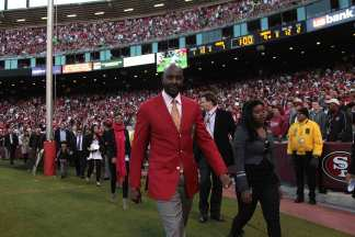 In Pictures: Jerry Rice Jersey Retired