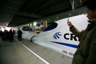 High-Speed Rail Lines Around the World