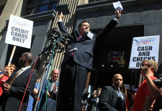 Stephen Colbert's Speech Outside FEC