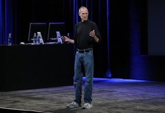 Steve Jobs Unveils Himself at Apple Event