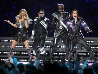 Black Eyed Peas Halftime Show in Photos