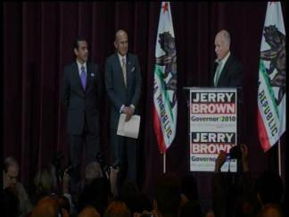 RAW VIDEO: Jerry Brown on Election Night