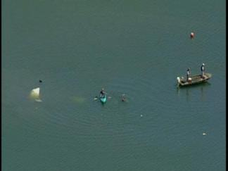 Raw Video: Small Plane Plunges Into Peninsula Lagoon