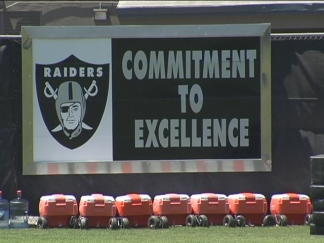 Raiders Report to Camp