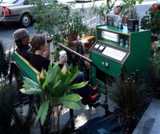 Park(ing) Day Turns San Francisco Green