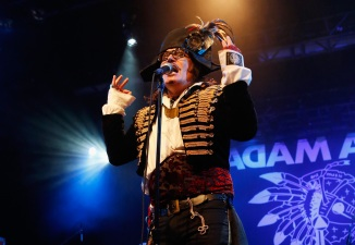Adam Ant Takes On The Regency