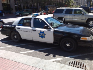 Fire Alarm Interrupts SFPD Chief