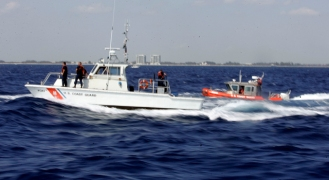Coast Guard Finds Three Missing Jet Skiers