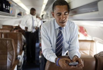 Obama Checks Into Foursquare, Is Google+ Next?