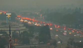 Dark Smoke, Hazy Conditions Blanket Bay Area Skies