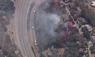 Brush Fire Near Hwy. 37 Prompts Evacuations Near Novato