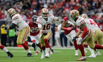 Lynch Says 49ers are Working Hard to Sign Garoppolo
